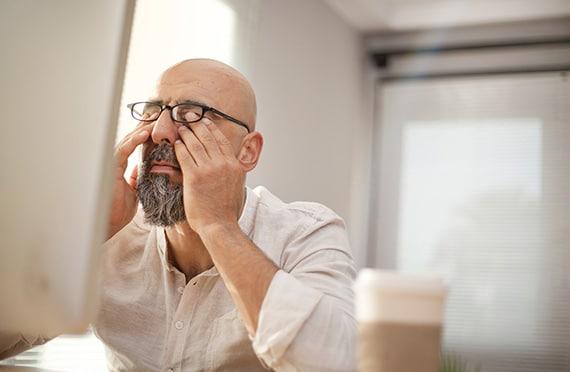 Bild Ophthalmologie, trockene Augen. TRB-Chemedica