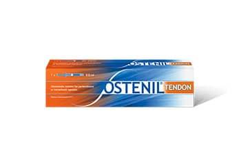 OSTENIL® TENDON Fertigspritze zur Behandlung von Schmerzen und eingeschränkter Bewegungsfähigkeit bei Sehnenbeschwerden. Wirksam, sicher und verträglich!