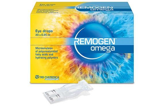Remogen Omega bei trockenem Auge. TRB-Chemedica