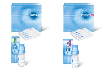 Per il trattamento dei sintomi dell'occhio secco o della lesione superficiale dell'occhio